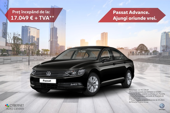 Oferta promotionala Passat Advance